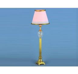 Staande lamp met witte kap