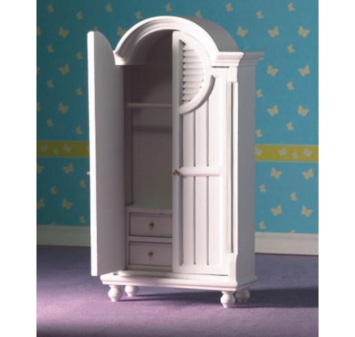 Eenpersoonsbed Met Linnenkast.Slaapkamer 1 12 Miniaturen Poppenhuizen Hbmonique Nl