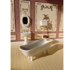 Klasieke badkamer, 4 delig