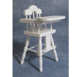 Kinderstoel wit gelakt
