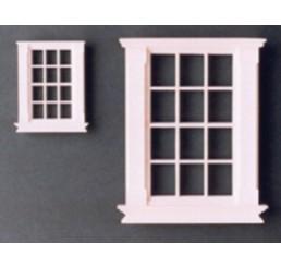 Georgiaans raam met 12 ruiten