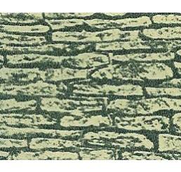 Vel met stenen muur