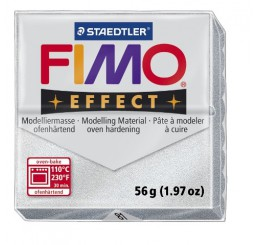 Fimo effect metallic zilver