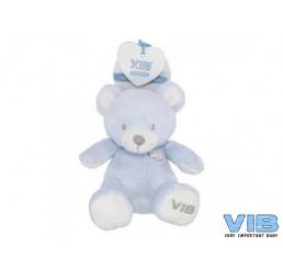 Pluche Bear Zittend 35cm Very Important Bear Blauw