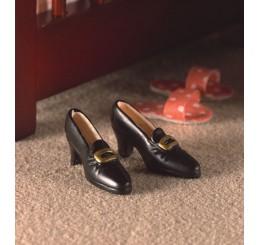 zwarte dames schoen