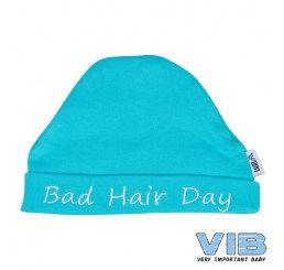 Muts Rond 'Bad hair day' Aqua