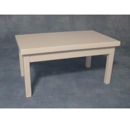 langwerpige Witte eetkamer tafel