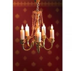 Luxe hanglamp met 5 kaarsen