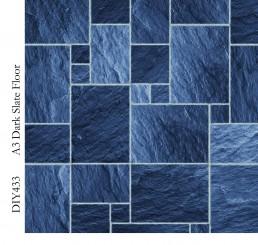 Vloer Dark Slate Floor Tiles