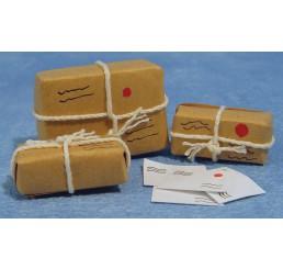 Postpakketten en brieven