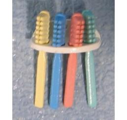 Tandeborstelrekje, met borstels