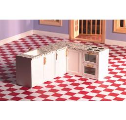 L-vormige keuken