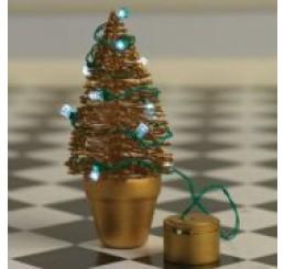 Kerstlampjes op batterij