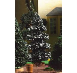 Besneeuwde kerstboom