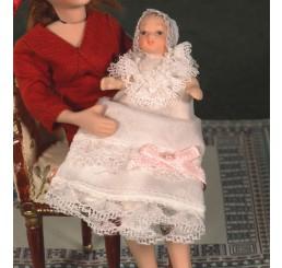 Baby Ada in lange jurk