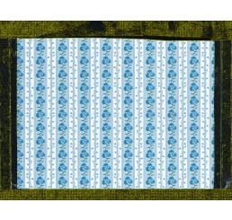 behang blauw aster