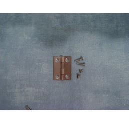 Schanier met schroeven, 4 stuks