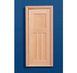 blank houten binnendeur