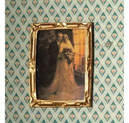Schilderij bruidspaar