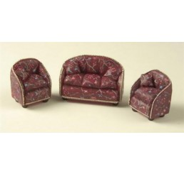 Sofa en 2 stoelen