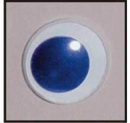 2 plak wiebeloogjes blauw