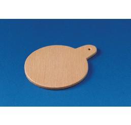 Snijplank, hout, rond model