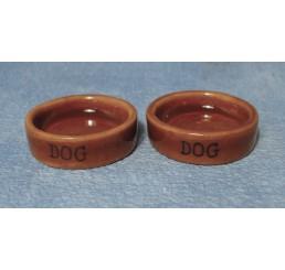 Hondenvoederbak, 2 stuks