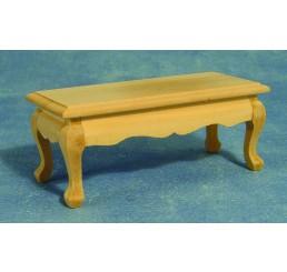 Salontafel, blank hout