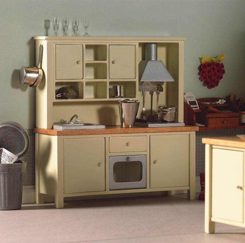Creme Keuken : 12 Miniaturen ? Keuken ? Creme alles in een keuken