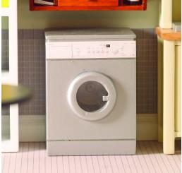 Zilverkleurige wasmachine