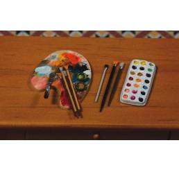 schildersbenodigdheden 5 delig