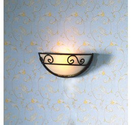 Decoratieve halfronde wandverlichting