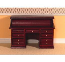 mahonie houten rol bureau