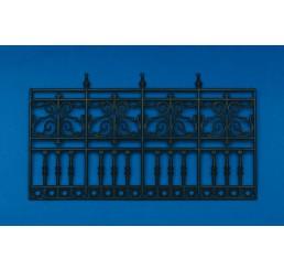 plastic railing 4 vakken