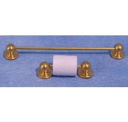 Handdoekrail met toiletrolhouder