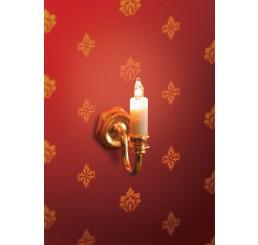 Wandkaarslamp