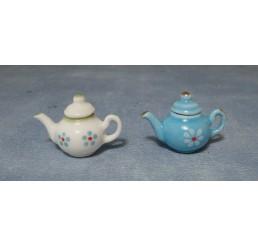 Moderne thee potten 2 stuks
