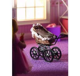 Kinderwagen, bruin