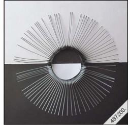 Snorharen zwart, 7cm, 10 stuks