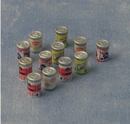 Blikjes drinken, 12 stuks