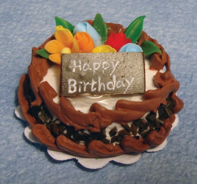 Beroemd Chocolade verjaardagstaart,Streets Ahead D1678 YO-84