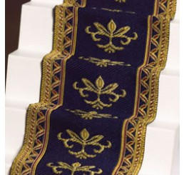 Navy Stair Carpet