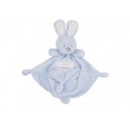 Pluche Konijn Very Important Rabbit Knuffeldoekje Blauw
