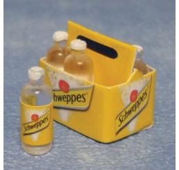 Krat Schweppes tonic, 6 flssen