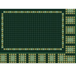Green Panel Wallpaper