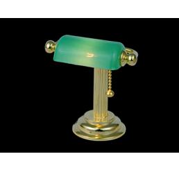 Bureaulamp, met groene kap