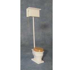 WC met hoge spoelbak