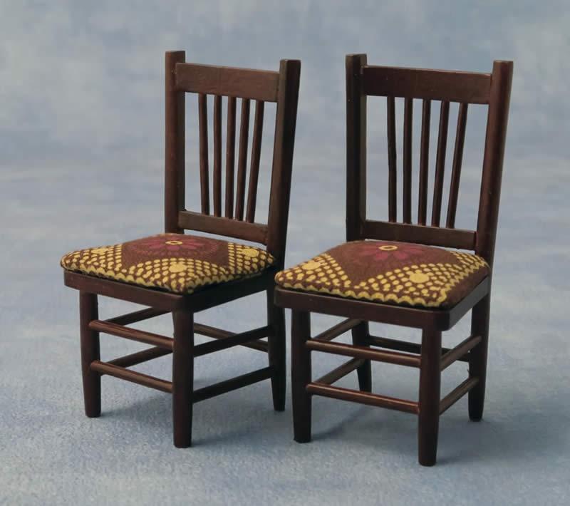 Eetkamer stoel, 2 stuks ,Babette Miniatures DF76147