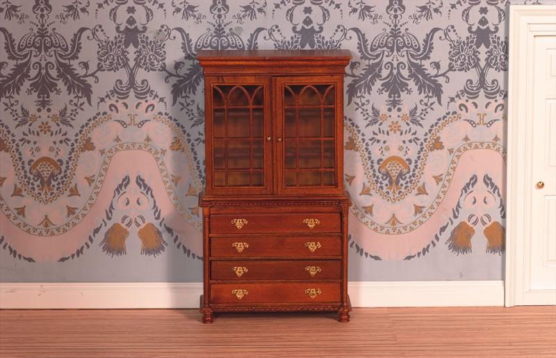 Boekenkast met deuren ,Dolls House Emporium 2446