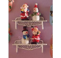 Kerst figuurtjes, 4 stuks